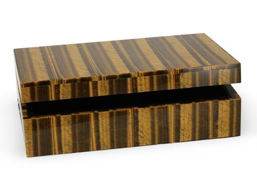 Ornamental Tiger Eye Gembox 150x100mm (N)