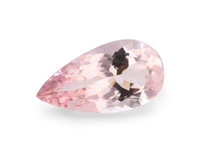 Morganite Dark Pink 14.1x7.5mm Pear (T)