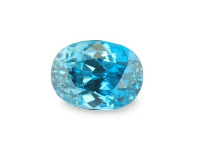 Zircon Blue 9x6.7mm Oval (E)