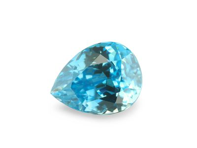 Zircon Blue 9.1x7mm Pear (E)