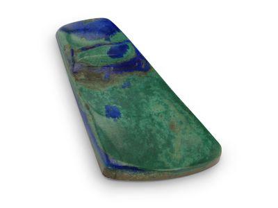 Azurite Malachite 25x15mm Trapezoid F/Form (N)