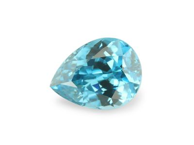 Zircon Blue 9.2x7mm Pear (E)