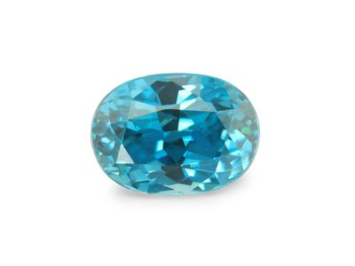 Zircon Blue 9x6.5mm Oval (E)