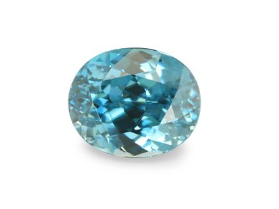 Zircon Blue 9x7.5mm Oval (E)