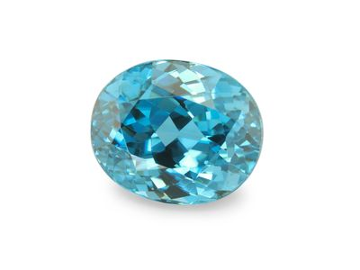 Zircon Blue 9.1x7.5mm Oval (E)