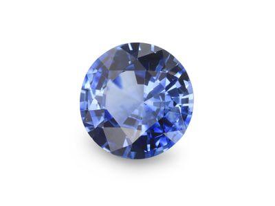 Sapphire Cey Bl 6.35mm Round (E)