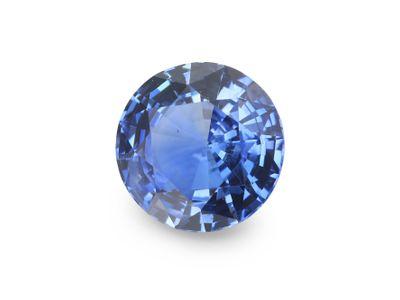 Sapphire Cey Bl 6.3mm Round (E)