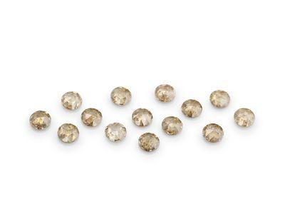 Diamond Champagne Rose Cuts 2.25mm Round (N)