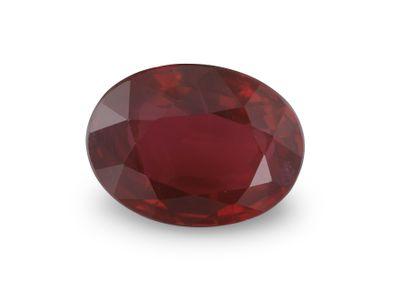 Ruby 7.9x5.9mm Oval (E)