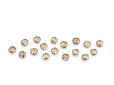 Diamond Champagne Rose Cuts 2mm Round (N)