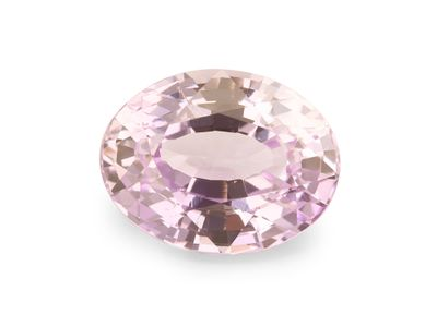 Sapphire Pale Pink 8.4x6.5mm Oval UNHEATED (N)