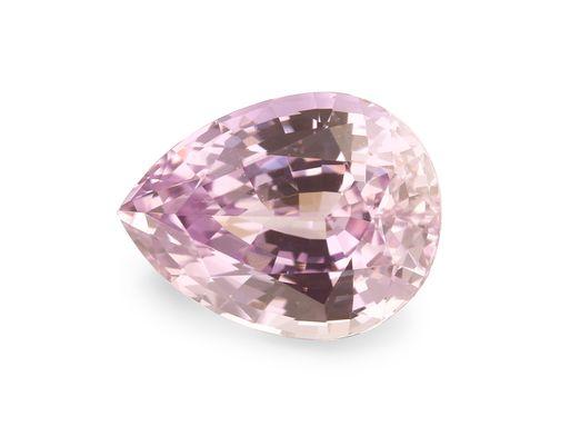 Sapphire Pink 8.5x6.45mm Pear UNHEATED (N)