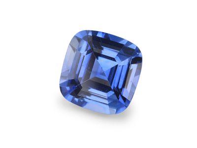 Sapphire Cey Bl 6mm Sq Cushion (E)
