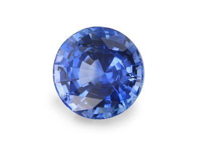 Sapphire Cey Bl 6.95mm Round (E)