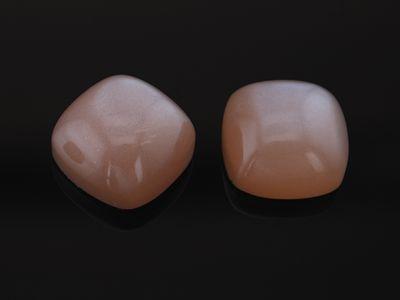 Moonstone Goldsand 10mm Square Cushion Cabochon (N)