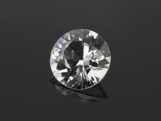 Sapphire White 6.5mm Round (E)