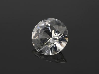 White Sapphire 6.3mm Round (E)