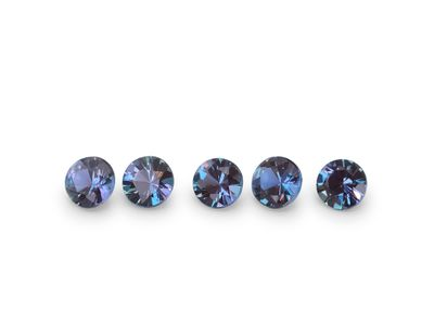 Synthetic Alexandrite 3mm Round (S)