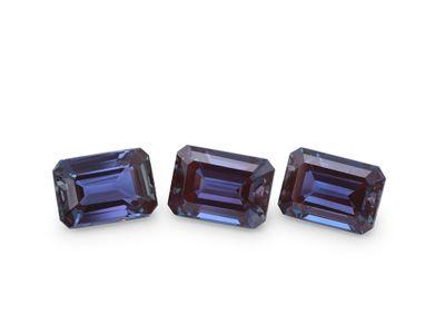 Synthetic Alexandrite 7x5mm Emerald Cut (S)