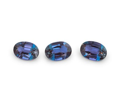 Synthetic Alexandrite 7x5mm Oval (S)