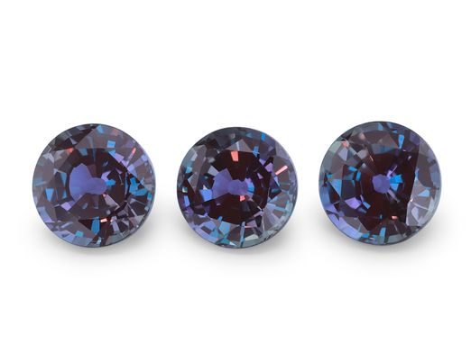 Synthetic Alexandrite 6.50mm Round (S)