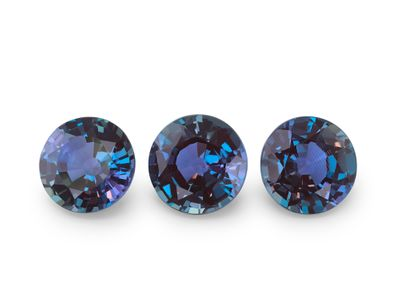 Synthetic Alexandrite 6mm Round (S)