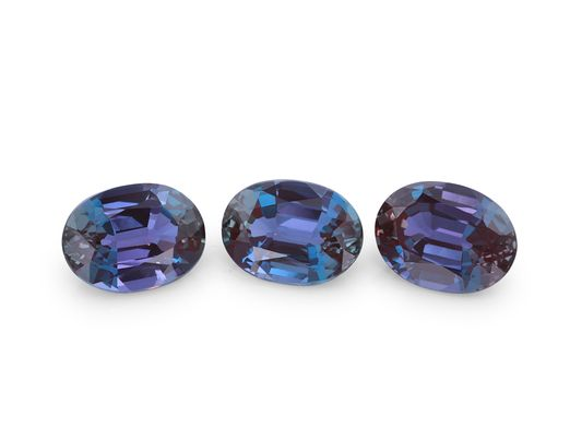 Synthetic Alexandrite 8x6mm Oval (S)