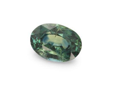 Montana Sapphire Bl/Gr 7x5mm Oval (E)