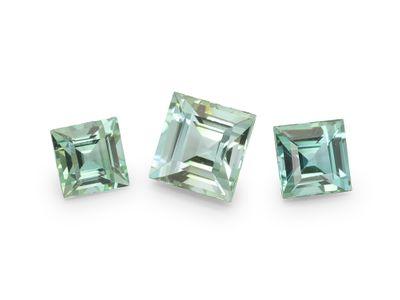 Tourmaline Mint Green Carre Parcel 3pcs (N)