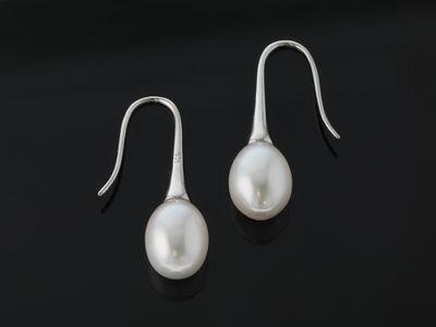 S/S 12x9mm F/W pearl drop Earrings