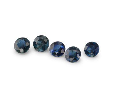 Sapphire Aust 3.5mm Round Parcel (E)
