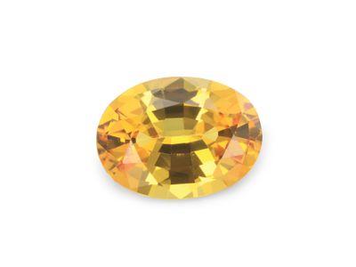 Sapphire Yellow 6.7x5mm Oval (E)