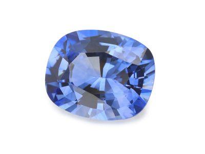 Sapphire Cey Mid Bl 7.7x6.2mm Cushion (E)