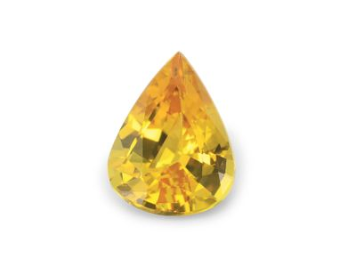 Sapphire Yellow 9x7mm Pear (E)