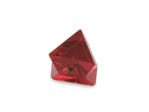 Spinel Red Macle Crystal 5mm +/- (N) 0.87cts
