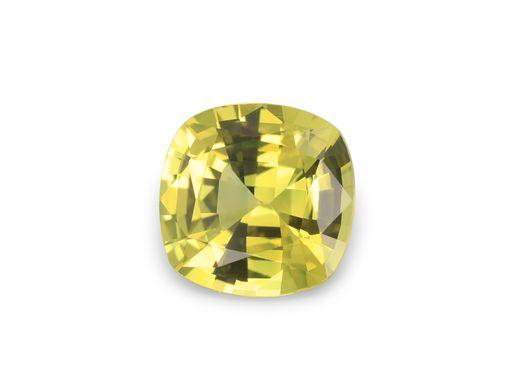 Sapphire Br Yellow 6.5mm Sq Cushion (E)