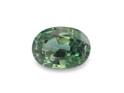 Sapphire Montana Teal 7x5.1mm Oval (E)