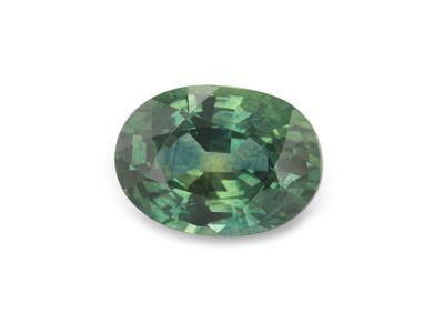 Sapphire Montana Gr Teal 7x5mm Oval (E)