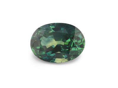 Sapphire Montana Dk teal 7x5.1mm Oval (E)