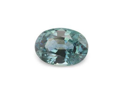Sapphire Montana Gr Teal 6.5x4.65mm Oval (E)