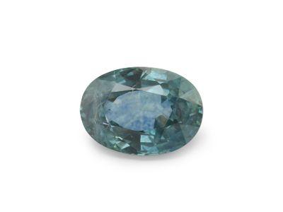 Sapphire Montana Bl Teal 6.5x4.65mm Oval (E)