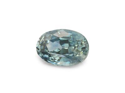 Sapphire Montana Pale Bl Teal 6.4x4.4mm Oval (E)
