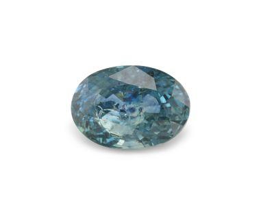 Sapphire Montana Bl Teal 6.5x4.6mm Oval (E)
