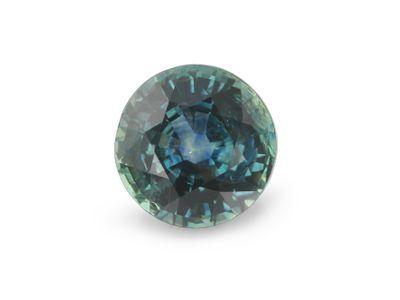 Sapphire Montana Bl Teal 6mm Round (E)