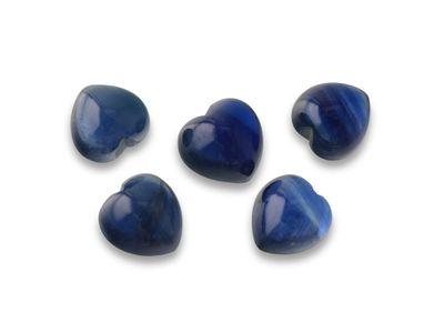 Sapphire 5mm Heart Cabochon (E)