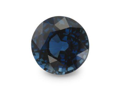 Sapphire Bl 6.5mm Round (E)