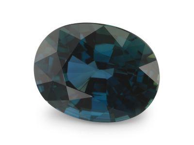 Sapphire Bl 8.9x6.9mm Oval (E)