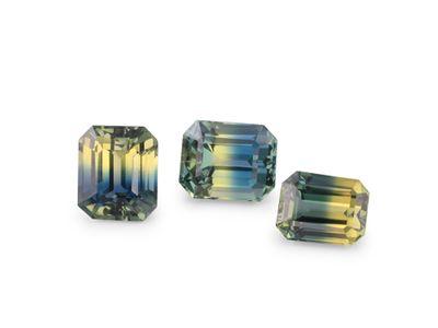 Sapphire Parti Yell/Blue Em/c set of 3pcs (E)