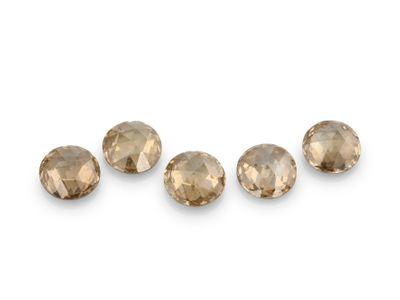 Diamond Champagne 2.1mm Round Rose Cuts (N)