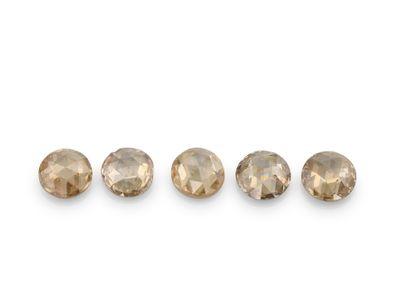 Diamond Champagne 1.90mm Round Rose Cuts (N)
